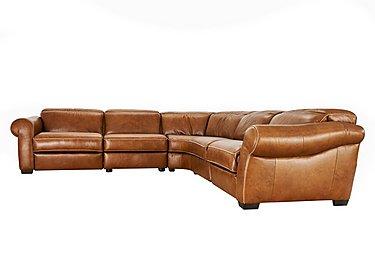Salerno Leather Corner Sofa