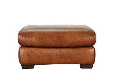 Salerno Leather Footstool
