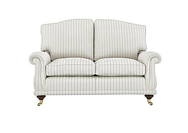 DG Sandringham 2 Seater Fabric Sofa in Pendragon Stripe Oyser Dis Wal on Furniture Village