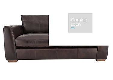 Savannah 2 Seater Leather Sofa in Byron Brogue on FV