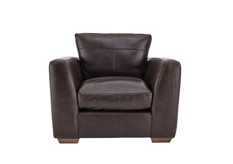 Savannah Leather Armchair  in {$variationvalue}  on FV