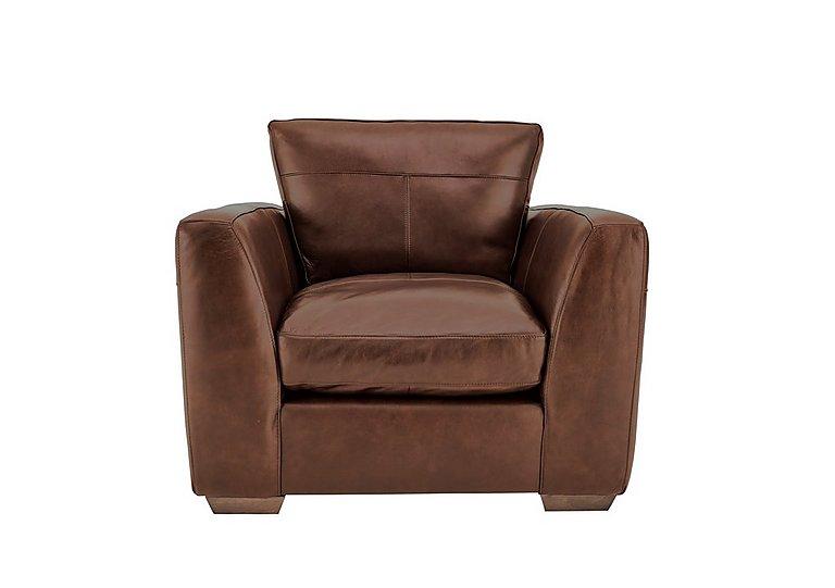 Savannah Leather Armchair