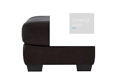 Savannah Leather Storage Footstool in Byron Brogue on FV