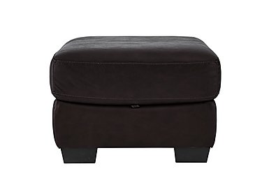 Savannah Leather Storage Footstool  in {$variationvalue}  on FV