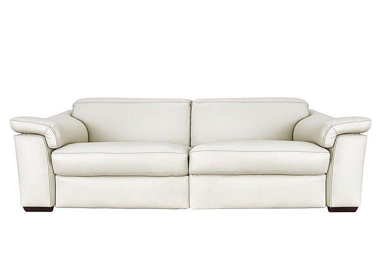 Sensor 3 Seater Leather Recliner Sofa