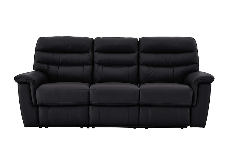 Relax Station Serenity 3 Seater Leather Recliner Sofa