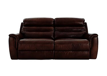 Tennessee 2 Seater Leather Recliner Sofa