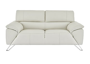Tesla 2 Seater Leather Sofa