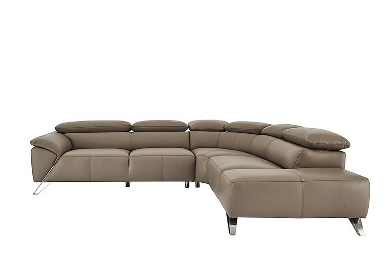 Tesla Leather Corner Sofa