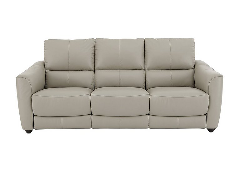 Trilogy 3 Seater Leather Recliner Sofa  in {$variationvalue}  on FV