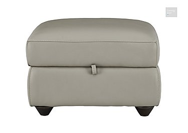 Trilogy Leather Storage Footstool  in {$variationvalue}  on FV