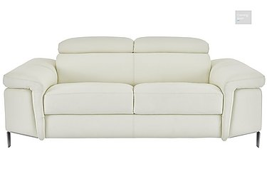 Vicenzi 3 Seater Leather Sofa  in {$variationvalue}  on FV