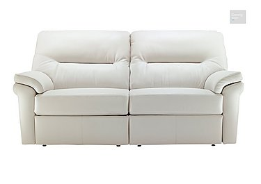 Washington 3 Seater Leather Recliner Sofa  in {$variationvalue}  on FV