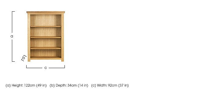 Bordeaux Painted Oak Bookcase in  on FV