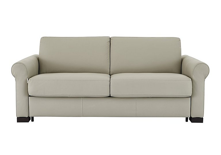 Alcova 2 Seater Leather Sofa Bed