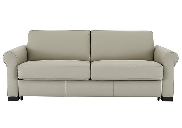 Alcova 3 Seater Leather Sofa Bed