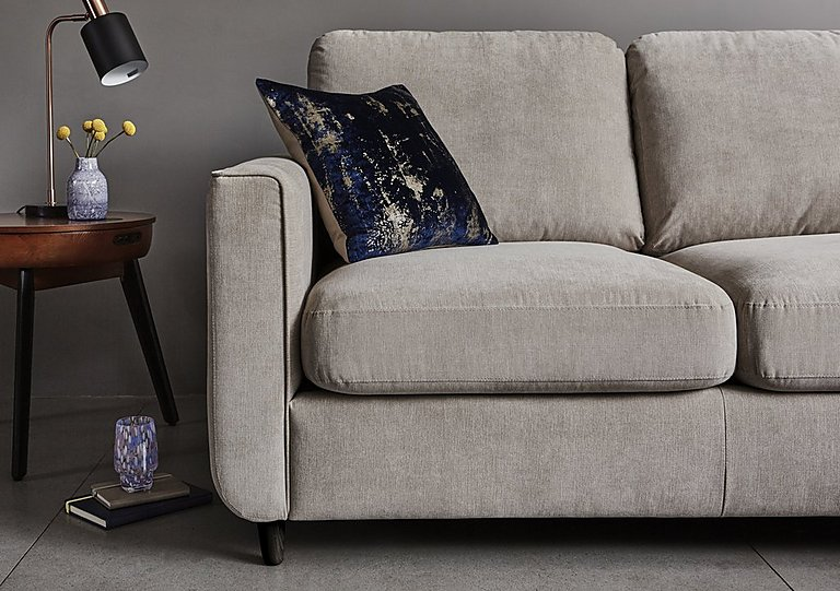 Esprit Fabric Chaise Sofa Bed with Storage - Esprit Fabric Chaise Sofa Bed With Storage - Furniture Village