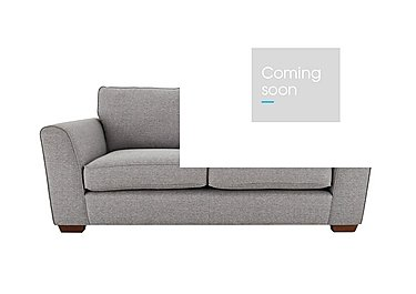 High Street Oxford Street 2 Seater Fabric Sofa in Salta  Ash on FV