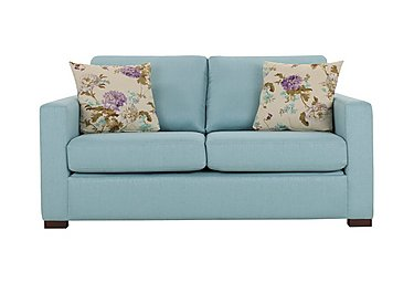 Petra 2 Seater Fabric Deluxe Sofa Bed in Marbella Turquiose 38 on FV