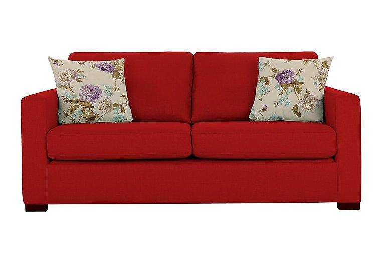 Petra 3 Seater Fabric Sofa Bed