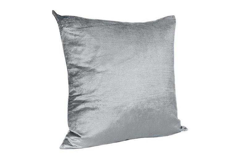 Velveteen Cushion in Silver on FV