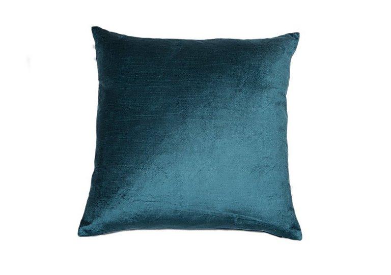 Velveteen Cushion in Teal on FV
