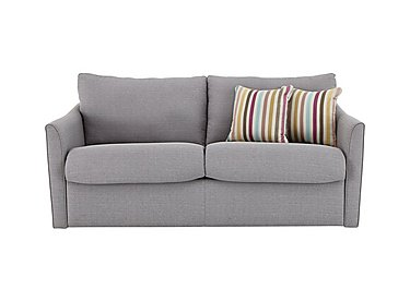Venus 2 Seater Fabric Sofa Bed in Salta Ash on FV