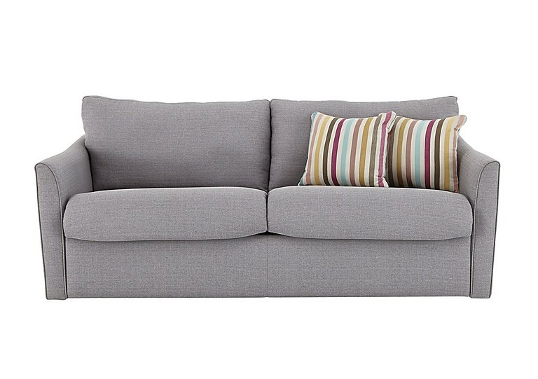 Venus 3 seater fabric sofa bed furniture village for Furniture village beds