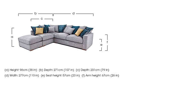 Dune Corner Sofa - DISCO  in {$variationvalue}  on FV