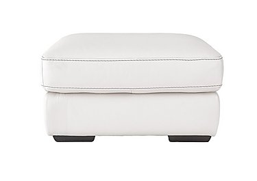 Sensor Leather Footstool