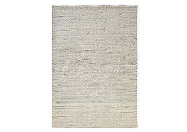Braided Wool Rug in  on FV