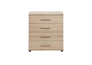 Amari 4 Drawer Chest in Kkv - King Oak on FV