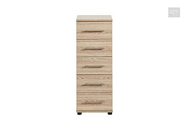 Amari 5 Drawer Narrow Chest  in {$variationvalue}  on FV