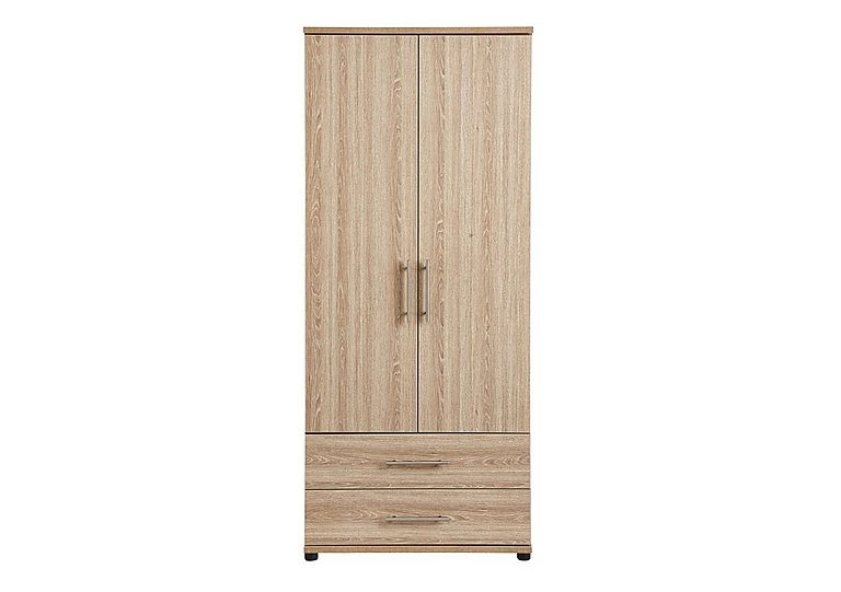 Amari 2 Door Gents Wardrobe in Kkv - King Oak on FV