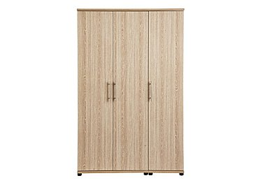 Amari 3 Door Wardrobe in Kkv - King Oak on FV
