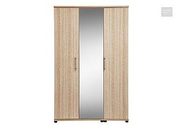 Amari 3 Door Centre Mirror Wardrobe  in {$variationvalue}  on FV