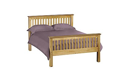 Chilton Pine High End Bed Frame in  on Furniture Village