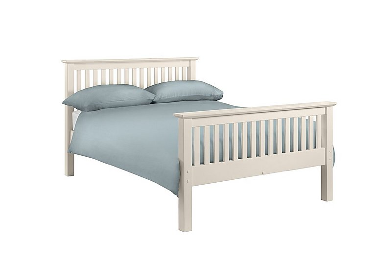 Chilton Stone White High End Bed Frame in  on FV