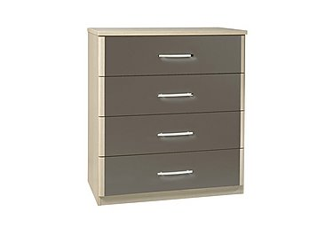 Kingsley 4 Drawer Chest in Atv - Tristan Grey on FV