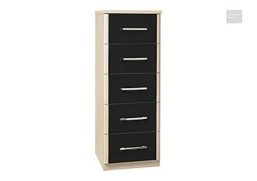 Kingsley 5 Drawer Narrow Chest  in {$variationvalue}  on FV