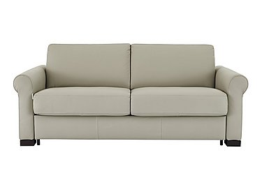 Alcova 2.5 Seater Leather Sofa Bed