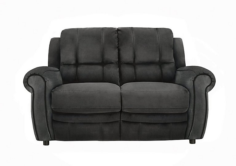 Arizona 2 Seater Fabric Recliner Sofa in Bfa-Blj-R16 Grey on Furniture Village