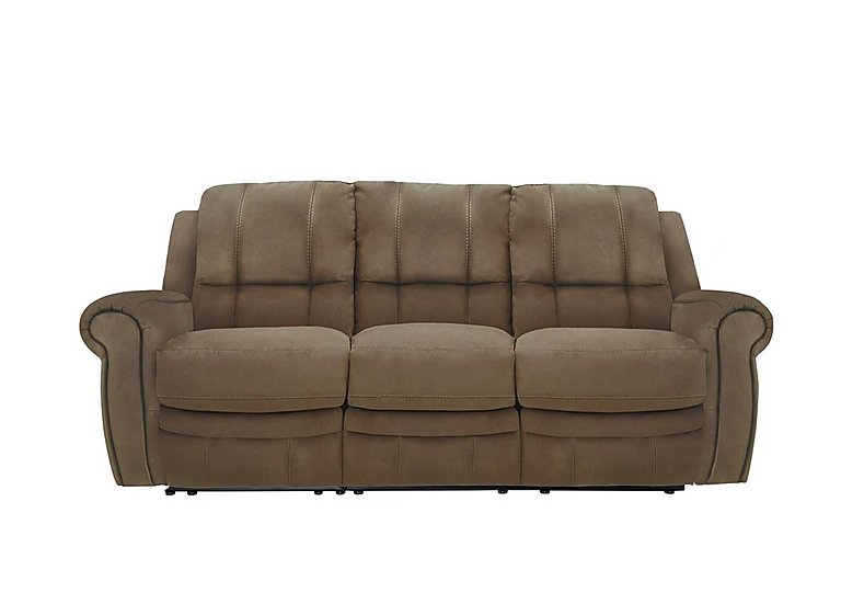 Arizona 3 Seater Fabric Recliner Sofa