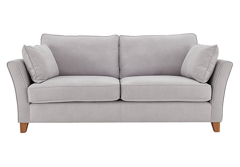 High Street Bond Street 4 Seater Fabric Sofa in Salta  Ash on FV