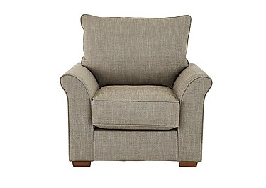 Carnaby Fabric Armchair in Huntch Beige on Furniture Village