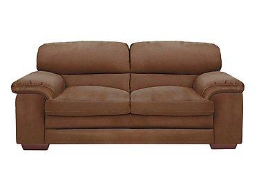 Carolina 2.5 Seater Fabric Sofa in Bfa-Blj-R05 Hazelnut on FV