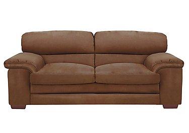 Carolina 3 Seater Fabric Sofa in Bfa-Blj-R05 Hazelnut on Furniture Village