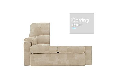 Chloe 2 Seater Small Fabric Sofa in C020 Checkers Oyster on FV