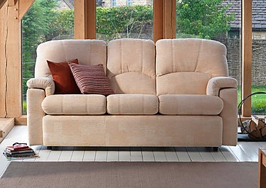Chloe 3 Seater Fabric Recliner Sofa in  on FV