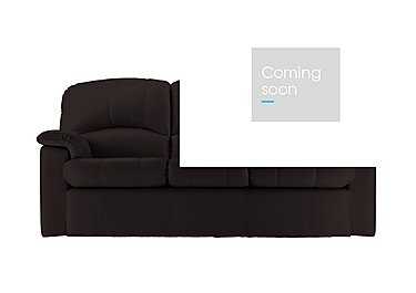 Chloe 3 Seater Leather Recliner Sofa in P200 Capri Chocolate on FV